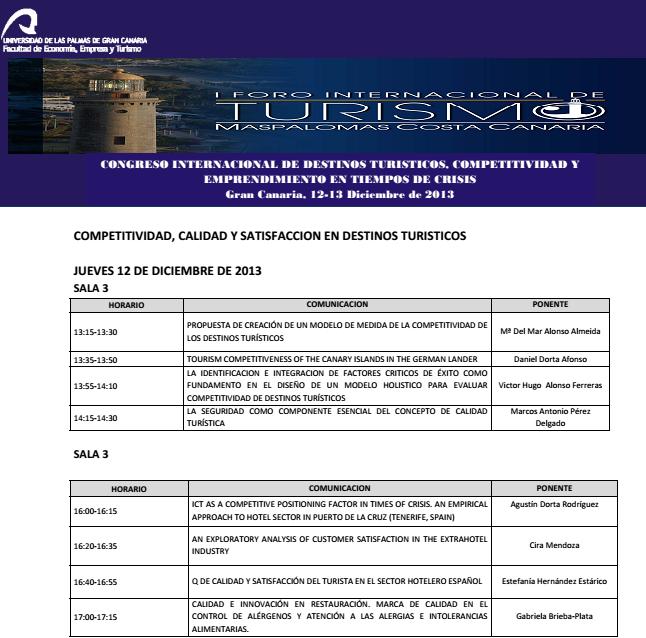 Forum Internacional Turismo